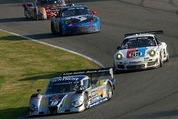 #10 SunTrust Racing Chevrolet Dallara: Max Angelelli, Ricky Taylor, #59 Brumos Racing Porsche GT3: Andrew Davis, Leh Keen