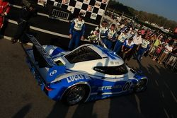 Race winner #01 Chip Ganassi Racing with Felix Sabates BMW Riley: Scott Pruett, Memo Rojas enters parc fermé