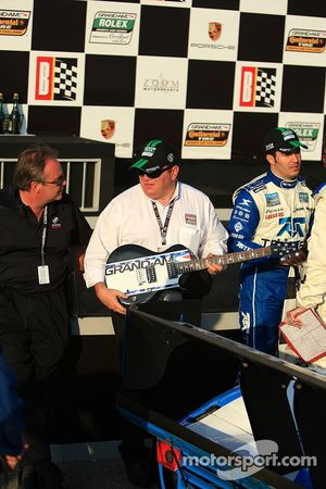 Chip Ganassi and the winning guitar