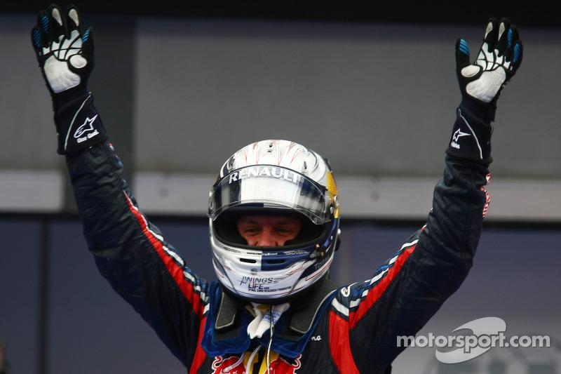 Yarış galibi Sebastian Vettel, Red Bull Racing