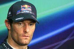 Conéfrence de presse : Mark Webber (Red Bull), troisième