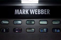 Garage of Mark Webber, Red Bull Racing