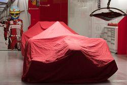 Ferrari under cover