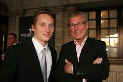 Renger van der Zande Persson Motorsport, AMG Mercedes C-Klasse with Coo Dijkman from the De Telegraaf, Nederlands