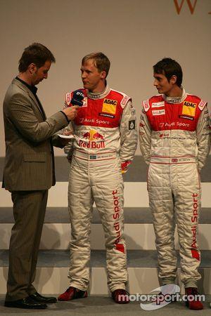 Mattias Ekström, Audi Sport Team Abt Audi A4 DTM and Oliver Jarvis, Audi Sport Team Abt Audi A4 DTM