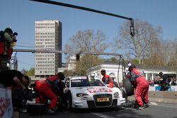 Timo Scheider Audi Sport Team Abt Audi A4 DTM