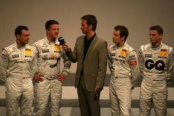 Gary Paffett, Team HWA AMG Mercedes C-Klasse, Ralf Schumacher, Team HWA AMG Mercedes C-Klasse, Klaus