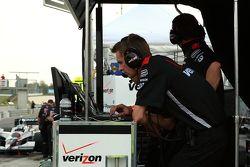 Team Penske pits
