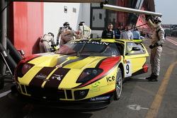 The JR Motorsports Nissan GT-Rs