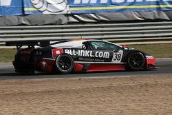 Naar de pitlane, #47 DKR Engineering Corvette Z06: Michael Rossi, Jaime Camara