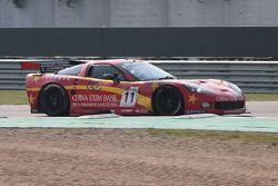#11 Exim Bank Team China Corvette Z06: Mike Hezemans, Nick Catsburg