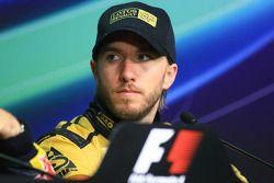 Post-race press conference: third place Nick Heidfeld, Lotus Renault F1 Team