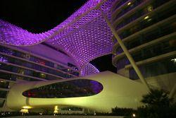 The stunning Yas Marina