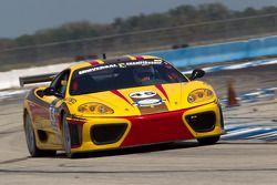 Ferrari Club Racing Association race action
