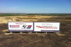 Constructie Circuit of the Americas in Austin voor United States Grand Prix vanaf 2012