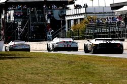 Hexis AMR Aston Martin DB9 ; Young Driver AMR Aston Martin DB9 ; Marc VDS Racing Ford GT Matech