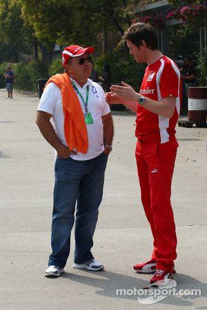 Rob Smedly, Scuderia Ferrari, Chief Engineer of Felipe Massa