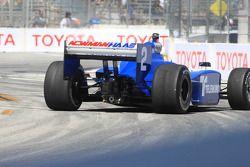 Oriol Servia, Newman/Haas Racing spin