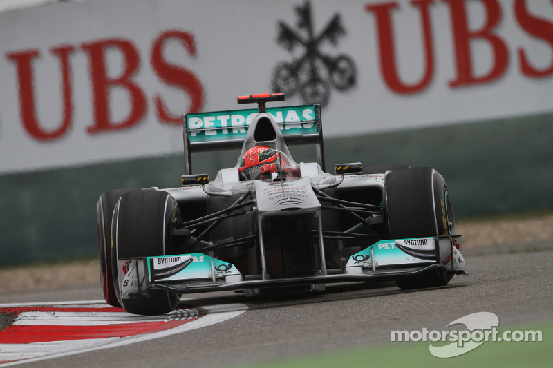 Michael Schumacher (2010-2012)