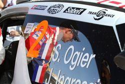 Машина Себастьена Ожье и Жюльена Инграссии, Citroën DS3 WRC, Citroën Total World Rally Team
