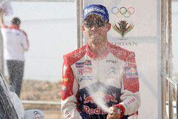 Podium : le vainqueur Sébastien Ogier
