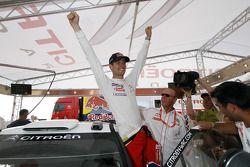 Sébastien Ogier, vainqueur du rallye
