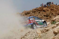 Яри-Матти Латвала и Микка Анттила, Ford Fiesta RS WRC, BP Ford Abu Dhabi World Rally Team