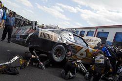 Crash Ricky Stenhouse Jr.