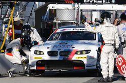Pitstop #55 BMW Team RLL BMW M3 GT: Bill Auberlen, Dirk Werner