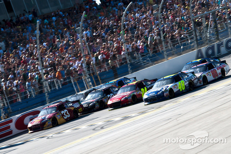 2011, Talladega 1: Jimmie Johnson (Hendrick-Chevrolet)