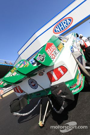 Mike Neffs' Castrol GTX Ford Mustang Funny Car