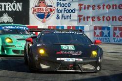 #08 West Yokohama Racing Lamborghini Gallardo LP 560-4: Nicky Pastorelli, Dominik Schwager