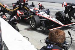 Passage aux stands pour Will Power, Team Penske
