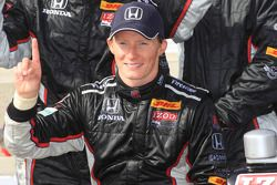 Race winner Mike Conway, Andretti Autosport