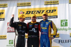 Round 6 Podium: 1st Mat Jackson, 2nd Andrew Jordan, 3rd James Nash