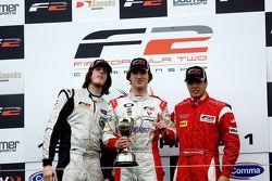 Podium from left: will Bratt, Mirko Bortolotti and Miki Monras