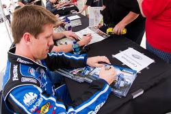Autograph session: Carl Edwards