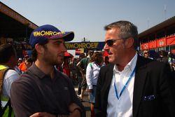 Jerome d'Ambrosio, F1 Driver and Marcello Lotti, CEO KSO