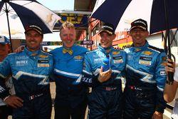 Yvan Muller, Chevrolet Cruz 1.6T, Chevrolet 3rd position, Eric Neve, Chevrolet Europe Motorsport Man