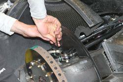 Werk aan de wagen van Martin Tomczyk, Audi Sport Team Phoenix, Audi A4 DTM