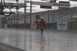 Fuerte lluvia en Hockenheim
