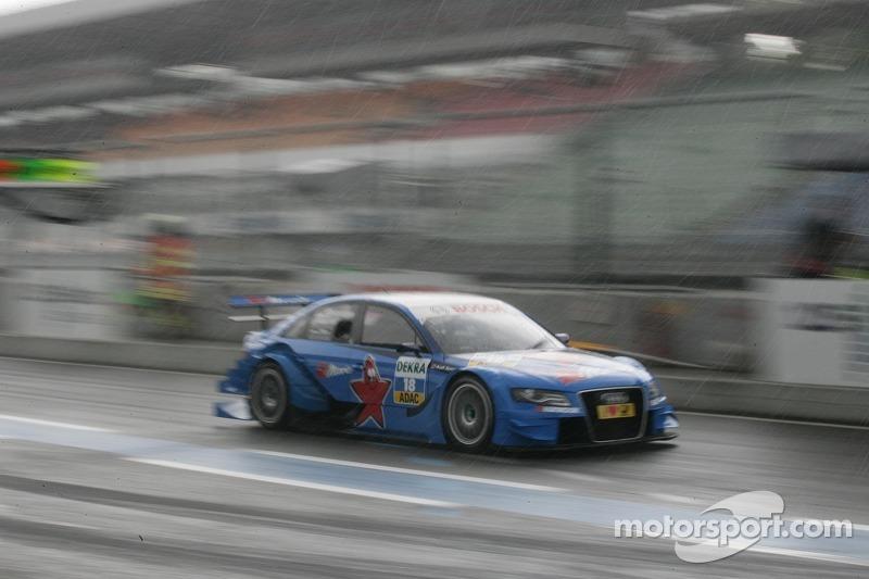Filipe Albuquerque, Audi Sport Team Rosberg, Audi A4 DTM in the Rain
