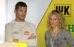Martin Tomczyk, Audi Sport Team Phoenix, Audi A4 DTM and Christina Surer, fiancee of Martin Tomczyk,