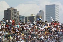 Sunday's crowd