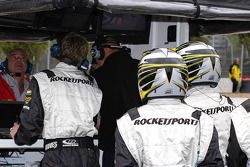 Les stands Rocketsports Racing