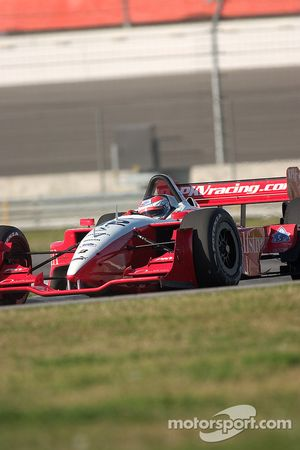 Jimmy Vasser lapping the California Speedway infield road course
