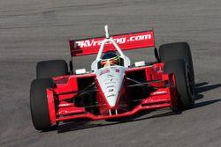 Cristiano da Matta lapping the California Speedway infield road course