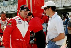 Jimmy Vasser y Michel Jourdain