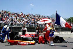 Miembros del equipo Newman/Haas Racing