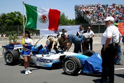 Car of Mario Dominguez